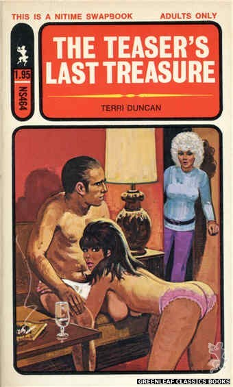 Nitime Swapbooks NS464 - The Teaser's Last Treasure by Terri Duncan, cover art by Unknown (1972)