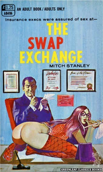 Adult Books AB486 - The Swap Exchange by Mitch Stanley, cover art by Unknown (1969)