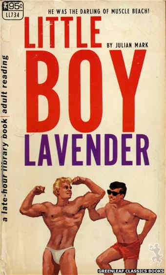 Late-Hour Library LL734 - Little Boy Lavender by Julian Mark, cover art by Darrel Millsap (1967)
