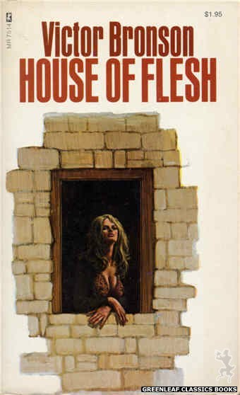 Midnight Reader 1974 MR7514 - House Of Flesh by Victor Bronson, cover art by Unknown (1974)