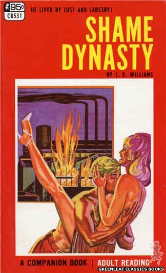 Companion Books CB531 - Shame Dynasty by J.X. Williams, cover art by Tomas Cannizarro (1967)