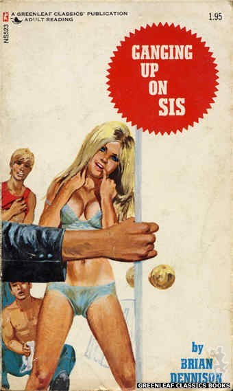 Nitime Swapbooks NS523 - Ganging Up On Sis by Brian Dennison, cover art by Unknown (1973)