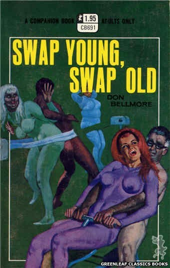 Companion Books CB691 - Swap Young, Swap Old by Don Bellmore, cover art by Robert Bonfils (1970)