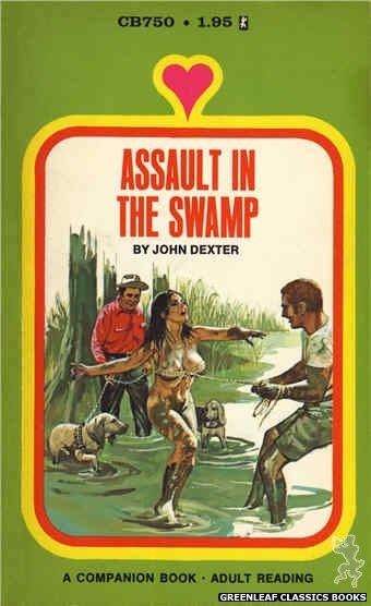 Companion Books CB750 - Assault In The Swamp by John Dexter, cover art by Unknown (1972)