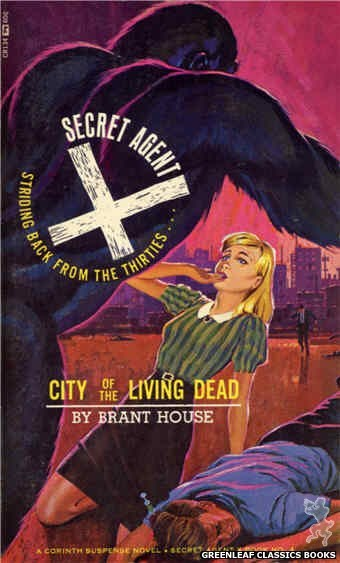 Corinth Regency CR134 - City of the Living Dead by Brant House, cover art by Unknown (1966)