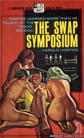 Companion Books CB621 - The Swap Symposium by Harold Horton, cover art by Ed Smith (1969)