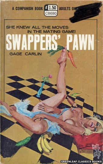 Companion Books CB680 - Swappers' Pawn by Gage Carlin, cover art by Robert Bonfils (1970)