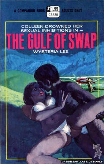 Companion Books CB689 - The Gulf Of Swap by Wysteria Lee, cover art by Robert Bonfils (1970)