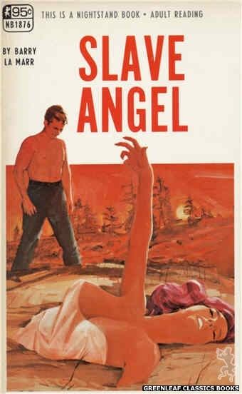 Nightstand Books NB1876 - Slave Angel by Barry La Marr, cover art by Darrel Millsap (1968)