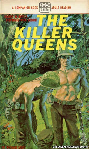 Companion Books CB550 - The Killer Queens by Michael Scott, cover art by Darrel Millsap (1968)