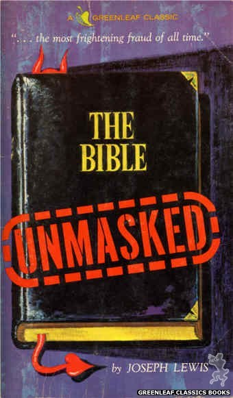Greenleaf Classics GC215 - The Bible Unmasked by Joseph Lewis, cover art by Unknown (1966)