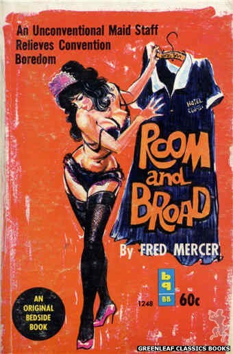 Bedside Books BB 1248 - Room and Broad by Fred Mercer, cover art by Unknown (1963)