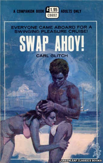 Companion Books CB692 - Swap Ahoy! by Carl Glitch, cover art by Robert Bonfils (1970)