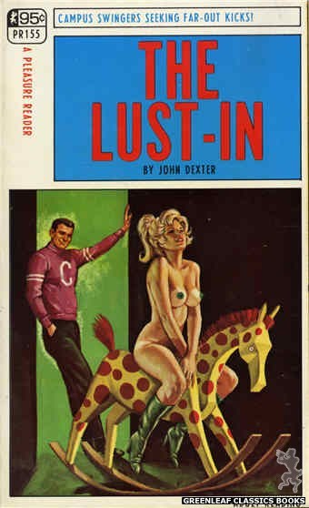 Pleasure Reader PR155 - The Lust-In by John Dexter, cover art by Ed Smith (1968)