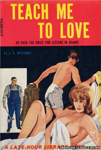 Late-Hour Library LL703 - Teach Me To Love by J.X. Williams, cover art by Unknown (1967)