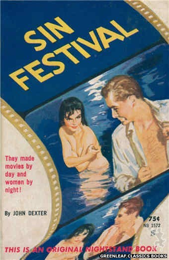 Nightstand Books NB1572 - Sin Festival by John Dexter, cover art by Harold W. McCauley (1961)