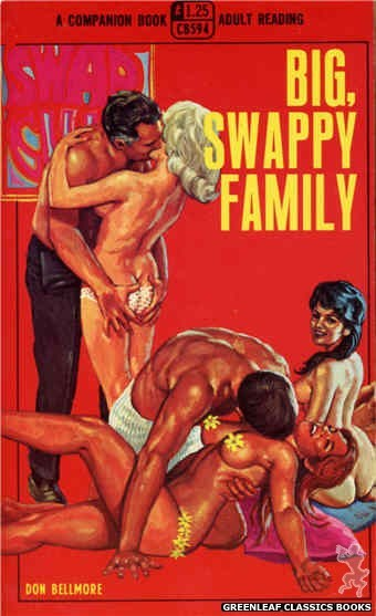 Companion Books CB594 - Big, Swappy Family by Don Bellmore, cover art by Ed Smith (1968)