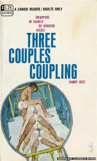 Candid Reader CA1013 - Three Couples Coupling by Harry Best, cover art by Unknown (1970)