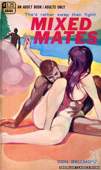 Adult Books AB466 - Mixed Mates by Don Bellmore, cover art by Unknown (1969)