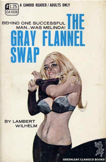 Candid Reader CA1028 - The Gray Flannel Swap by Lambert Wilhelm, cover art by Darrel Millsap (1970)