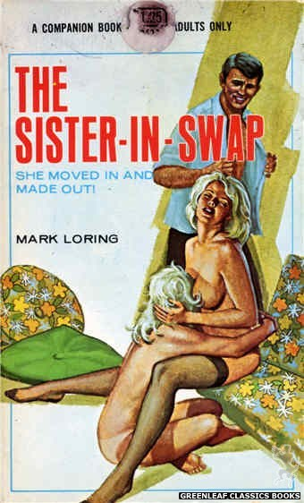 Companion Books CB622 - The Sister-In-Swap by Mark Loring, cover art by Ed Smith (1969)