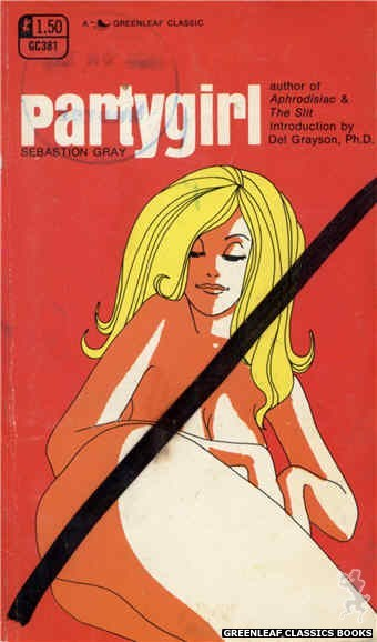 Greenleaf Classics GC381 - Partygirl by Sebastion Gray, cover art by Unknown (1969)