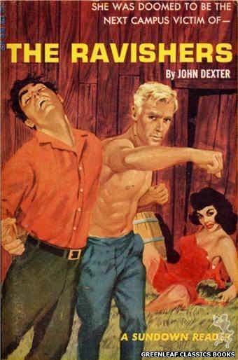 Sundown Reader SR598 - The Ravishers by John Dexter, cover art by Darrel Millsap (1966)