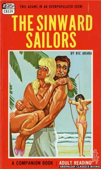 Companion Books CB539 - The Sinward Sailors by Ric Arana, cover art by Tomas Cannizarro (1967)