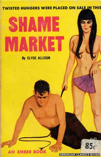 Ember Books EB951 - Shame Market by Clyde Allison, cover art by Unknown (1964)