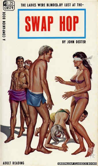 Companion Books CB579 - Swap Hop by John Dexter, cover art by Ed Smith (1968)