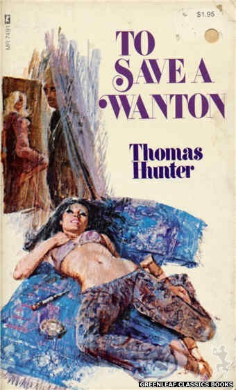 Midnight Reader 1974 MR7491 - To Save A Wanton by Thomas Hunter, cover art by Unknown (1974)