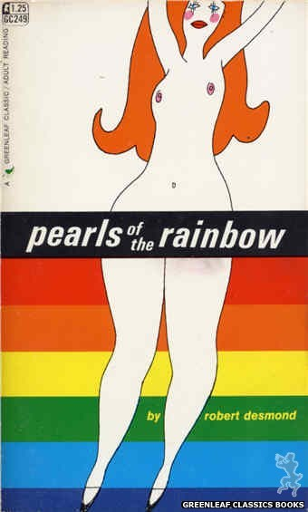 Greenleaf Classics GC249 - Pearls of the Rainbow by Robert Desmond, cover art by Unknown (1967)