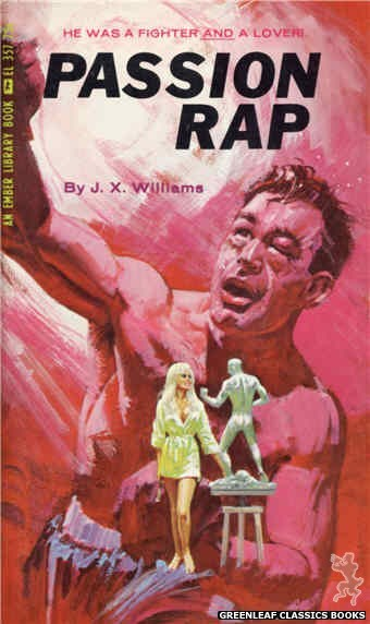 Ember Library EL 357 - Passion Rap by J.X. Williams, cover art by Robert Bonfils (1966)