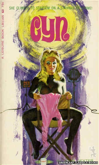 Leisure Books LB1165 - Cyn by John Dexter, cover art by Robert Bonfils (1966)