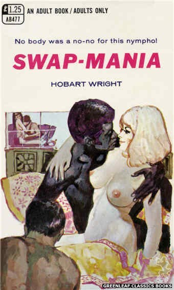 Adult Books AB477 - Swap-Mania by Hobart Wright, cover art by Unknown (1969)