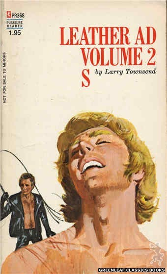 Pleasure Reader PR368 - Leather Ad Volume 2 S by Larry Townsend, cover art by Robert Bonfils (1972)