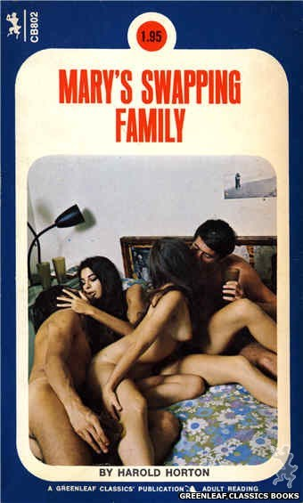 Companion Books CB802 - Mary's Swapping Family by Harold Horton, cover art by Unknown (1973)