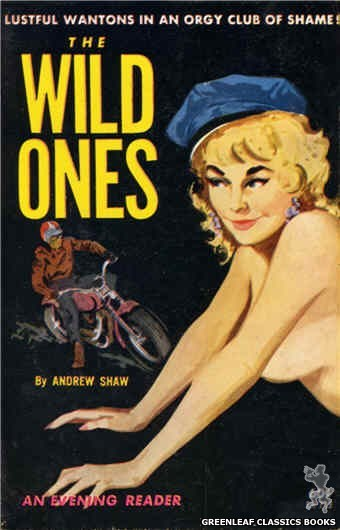 Evening Reader ER713 - The Wild Ones by Andrew Shaw, cover art by Unknown (1963)