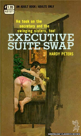 Adult Books AB1571 - Executive Suite Swap by Hardy Peters, cover art by Robert Bonfils (1971)