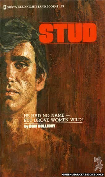 Reed Nightstand 3029 - Stud by Don Holliday, cover art by Robert Bonfils (1973)