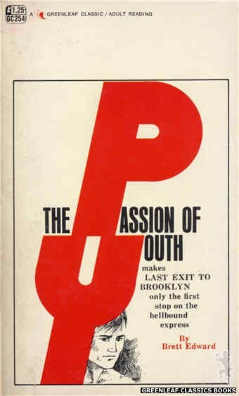 Greenleaf Classics GC254 - The Passion of Youth by Brett Edward, cover art by Unknown (1967)