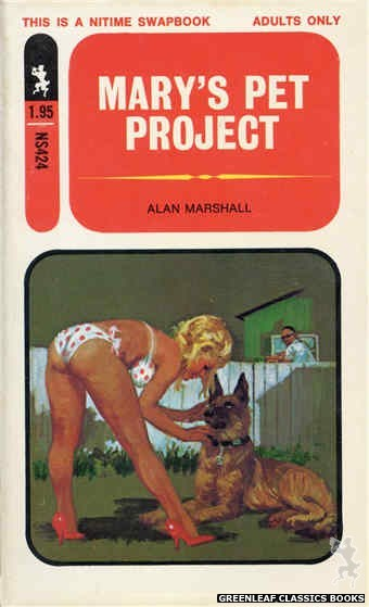 Nitime Swapbooks NS424 - Mary's Pet Project by Alan Marshall, cover art by Robert Bonfils (1971)