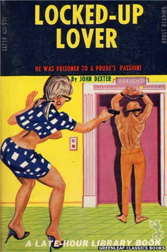 Late-Hour Library LL710 - Locked-Up Lover by John Dexter, cover art by Tomas Cannizarro (1967)