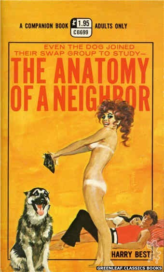 Companion Books CB699 - The Anatomy Of A Neighbor by Harry Best, cover art by Ed Smith (1971)