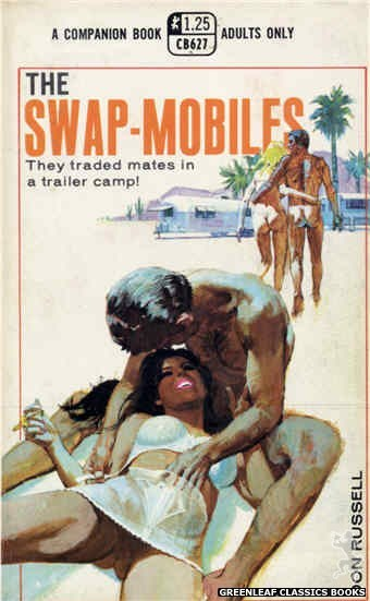 Companion Books CB627 - The Swap-Mobiles by Don Russell, cover art by Robert Bonfils (1969)
