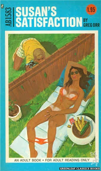 Adult Books AB1583 - Susan's Satisfaction by Gregg Orr, cover art by Unknown (1971)