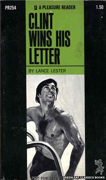 Pleasure Reader PR254 - Clint Wins His Letter by Lance Lester, cover art by Unknown (1970)