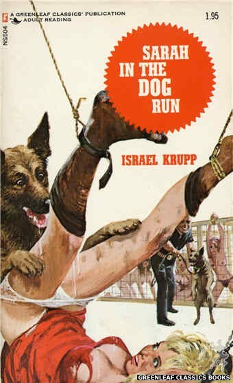 Nitime Swapbooks NS504 - Sarah In The Dog Run by Israel Krupp, cover art by Unknown (1972)