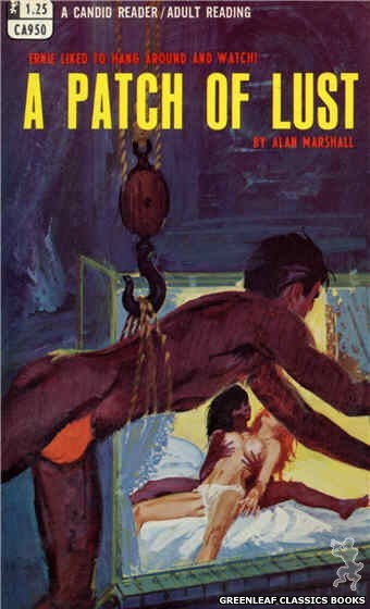 Candid Reader CA950 - A Patch Of Lust by Alan Marshall, cover art by Robert Bonfils (1968)