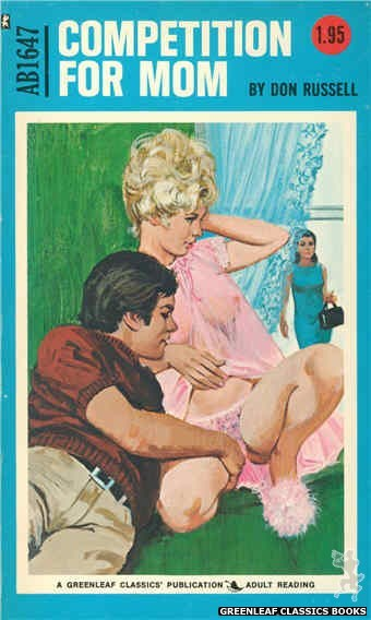Adult Books AB1647 - Competition for Mom by Don Russell, cover art by Unknown (1972)